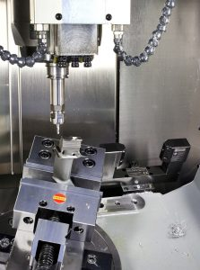 Hermle C 20 U vertical machining centre with full 5-axis capability
