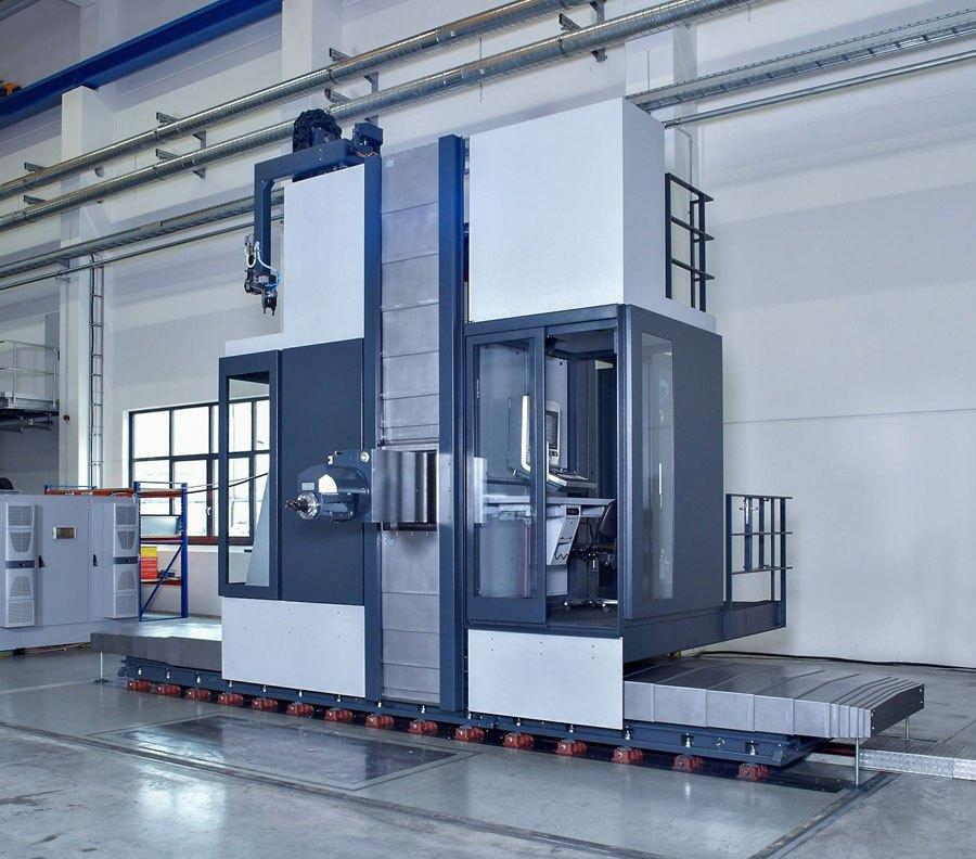 SHW Powerspeed 2000 travelling column machine