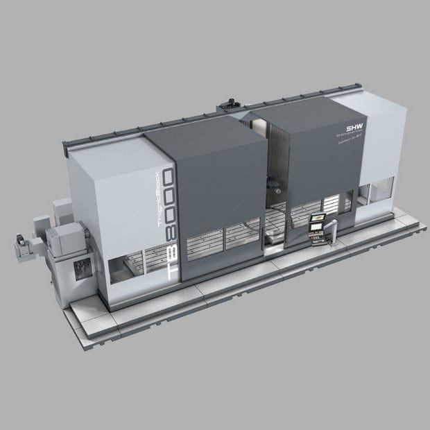 SHW TightBlock 8000 Machine