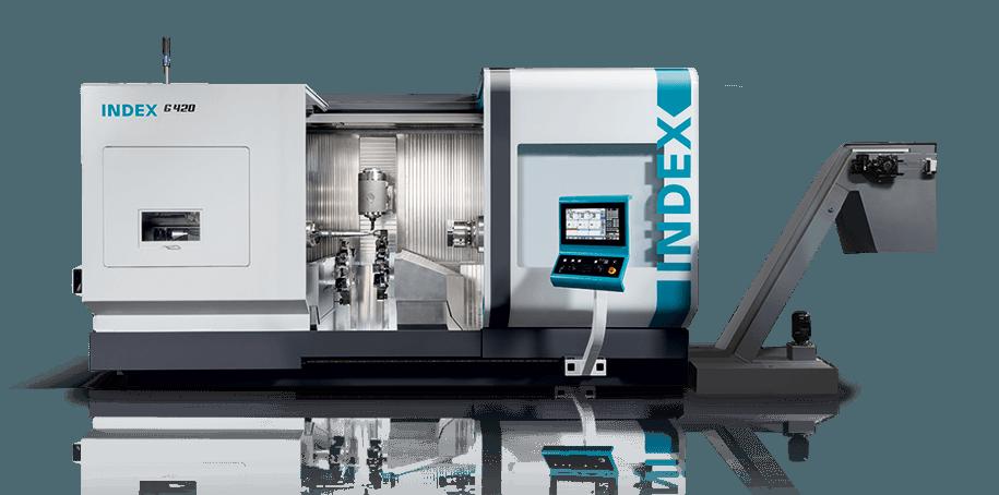 Index G420 mill/turn machine