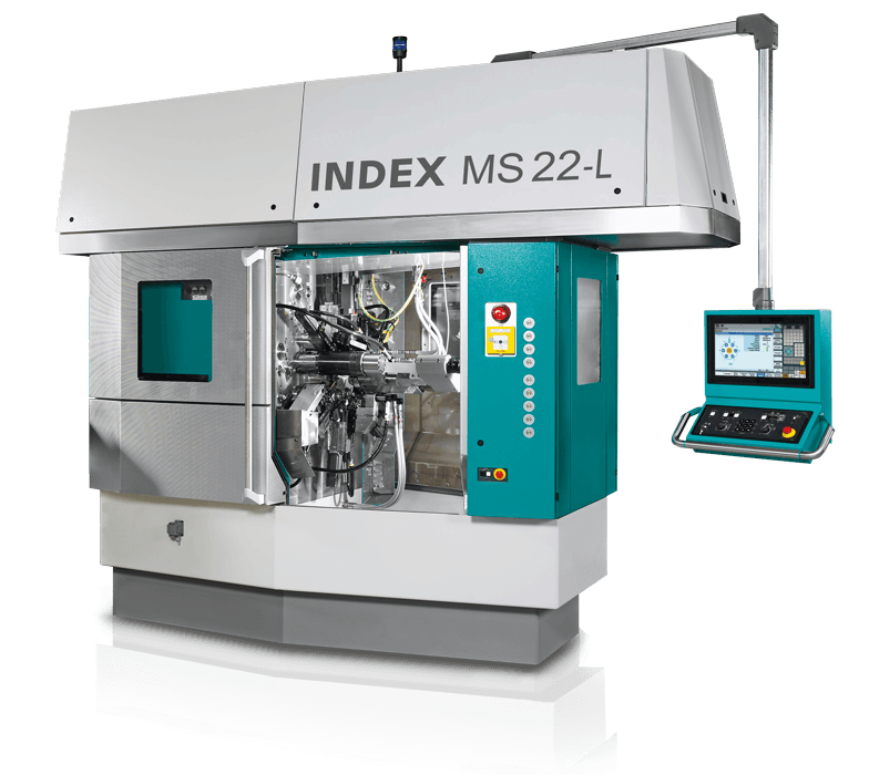 Index MS22-L multi spindle turning machine