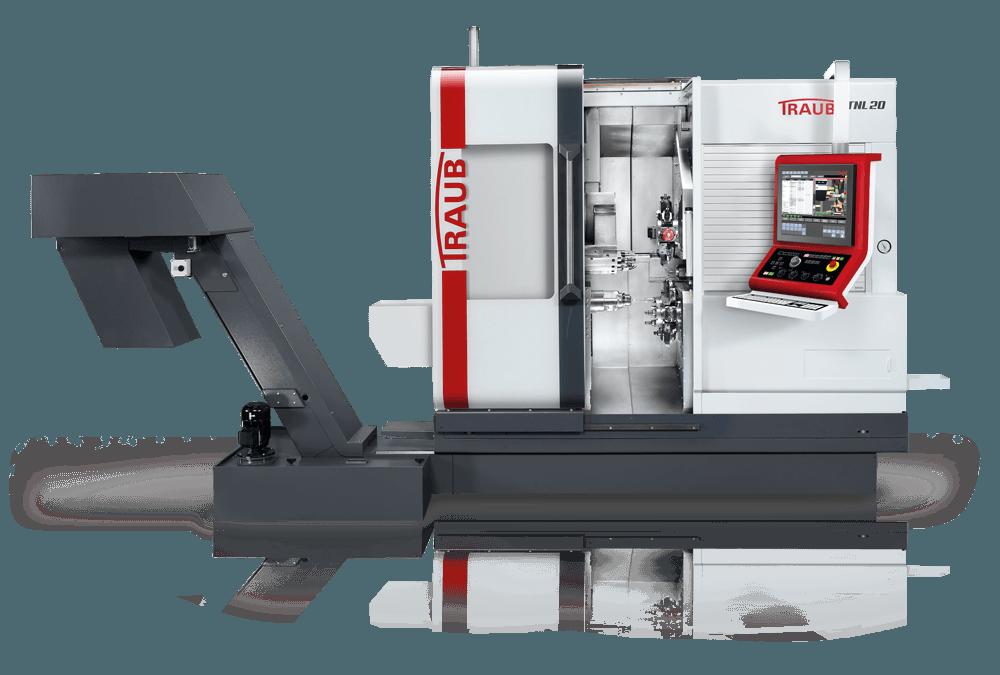 Traub TNL20 sliding headstock automatic lathe