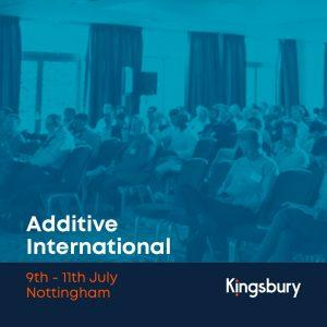 Additive International Event Nottingham