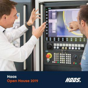 Haas open house 2019 for grinding machines and processes