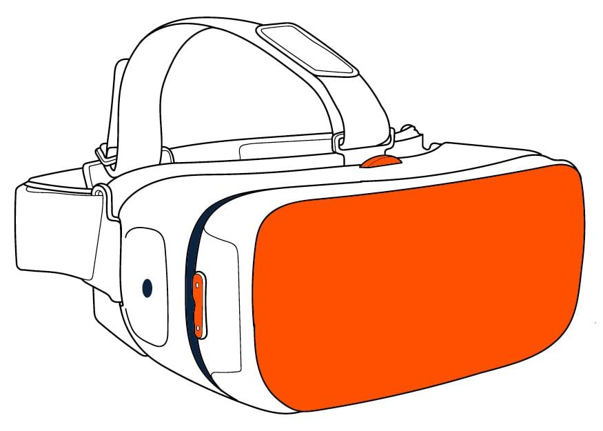 Research and design in the aerospace industry using VR